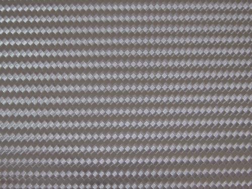 3D CARBON LOOK-GRAY REGULAR SIZE:W 48cm x L 60cm/pc