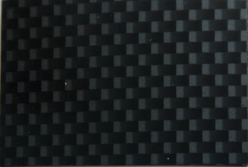 CARBON LOOK BLACK REGULAR SIZE:W 48cm x L 60cm/pc