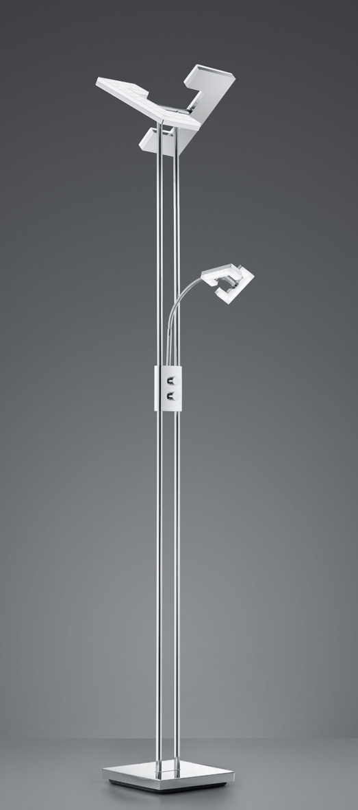 LED mother and son floor lamp
