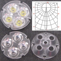 LED set of 4 in1 (Spot)