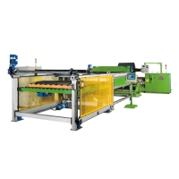 Heavy Duty Peeling Machine with Auto Panel Cutting and Stacking Unit