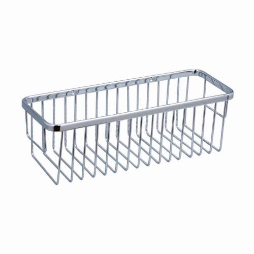 R407 Solid brass rectangle basket