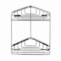 C208 Double corner basket  175 x 175 x 270 mm