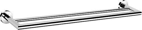 30414 60cm-Double towel bar