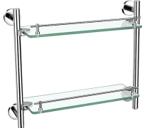30434 Double glass shelf