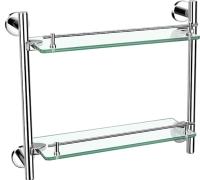 30434 Double glass shelf