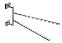 27353 Double split towel bar