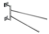 27353 Double split towel bar