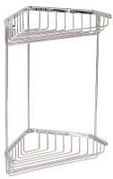 C203 Solid brass corner basket