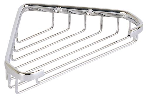 C102 Solid brass corner basket  180 x 125 x 35 mm