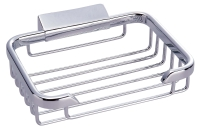 R402 Solid brass corner rectangle basket 133 x 100 x 30 mm