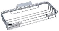 R403 Solid brass corner rectangle basket 210 x 110 x 35 mm