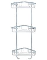 C301 Solid brass corner basket 170 x 170 x 555 mm