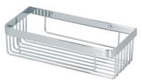 R401 Solid brass corner rectangle basket 300 x 140 x 80 mm