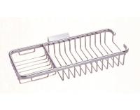 R404 Solid brass corner rectangle basket 300 x 120 x 50 mm