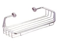 R405 Solid brass corner rectangle basket 275 x 126 x 43 mm