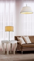 Table and Pendant Lamp