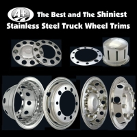 Stainless Steel Truck & bus wheel covers & nut covers