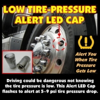 Tire Pressure Monitor System LED(TPMS) LED Cap
