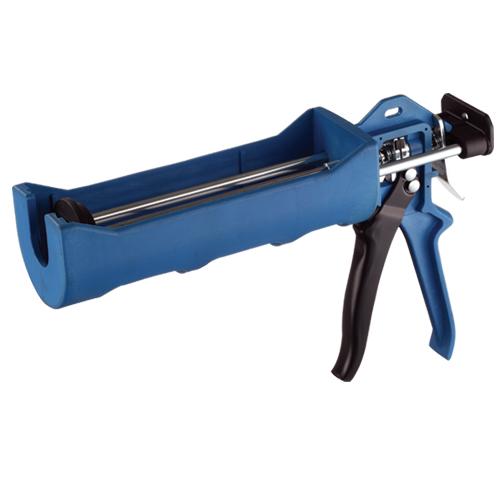 Coaxial-cartridge Caulking Gun