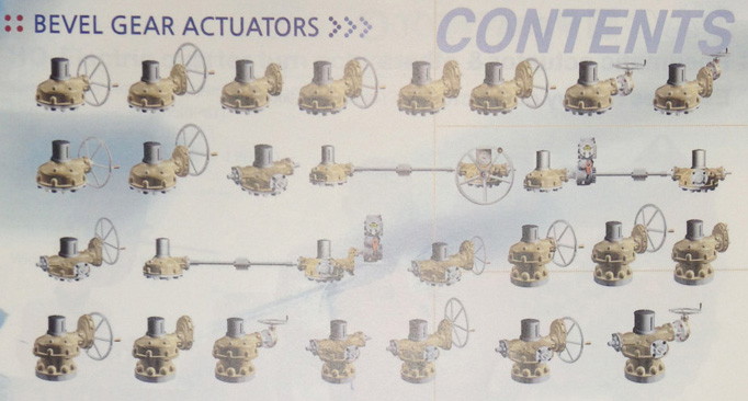Bevel Gear Actuators
