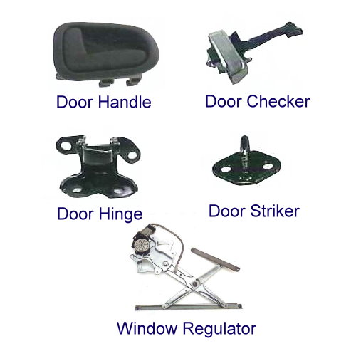 DOOR HANDLES ETC