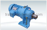 Cens.com T600(New T800)Cycloidal Speed Reducer / Horizontal / Single stage with Motor TRANSMISSION MACHINERY CO., LTD.