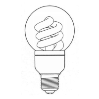 Global Shape Covered Compact Fluorescent Lamp
