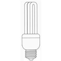 Parallel 3U Shape Compact Fluorescent Lamp