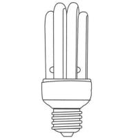Parallel 4U Shape Compact Fluorescent Lamp