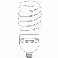 Half Spiral T5 High Power CFL