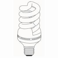 Full Spiral T5 High Power CFL