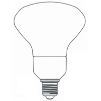 3-Way Dimmable T3 & T4 Half Spiral CFL