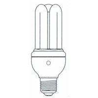 T4 3U CFL with Sensor
