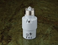 AUTOMATIC LAMPHOLDER WITH SENSOR E27/E26 150W 120/240V