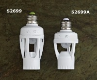 AUTOMATIC LAMPHOLDER WITH INFRARED SENSOR E27 60W 110-240V