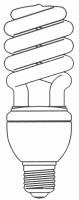 Half / Full Spiral CFL