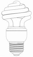 Umbrella Shape CFL