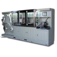 LDPE铝塑积层软管制管机