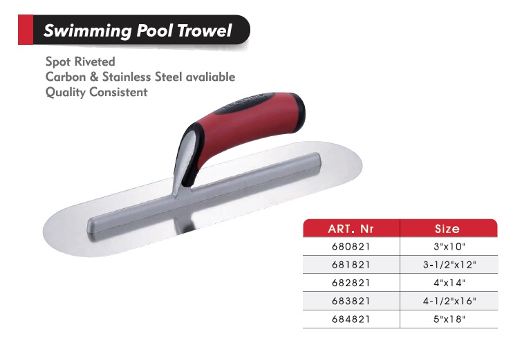 Swimming Pool Trowels/ /Cement Tools/ Masonry Tools