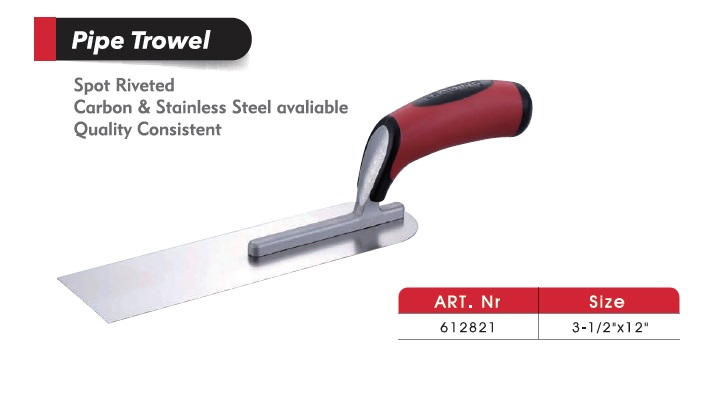 Pipe Trowels/Plastering Trowels/Cement Tools/ Masonry Tools