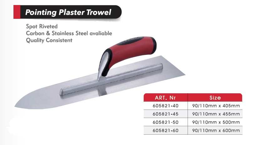 Pointer Plaster Trowels / Cement tools/  Cement tools