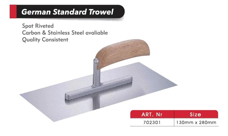 German Standard Trowels