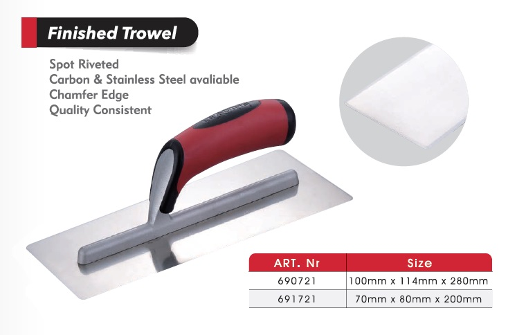 Finished Trowels/ Cement Tools/ Cement Tools