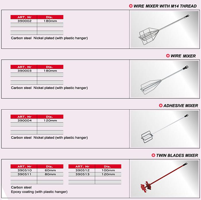 Wire Mixer/Adhesive Mixer/Twin-blade. Mixer