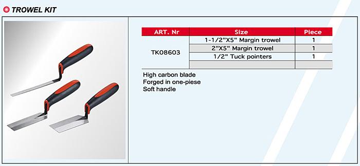 Trowel Kits / Tool Sets / Tool Kits