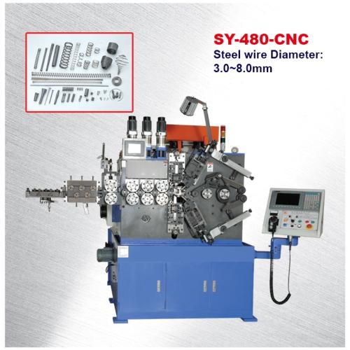 電腦數控壓縮螺旋彈簧機