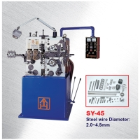 Compression / Coil Spring Making Machine