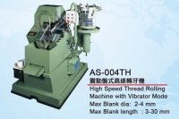 high speed thread rollin machine with vibrator mode