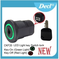 LED Light Key Switch Locks